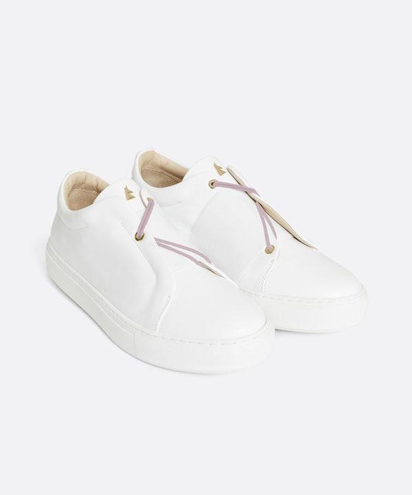 Toi & Moi B.B Sneaker Low-Top Blanche