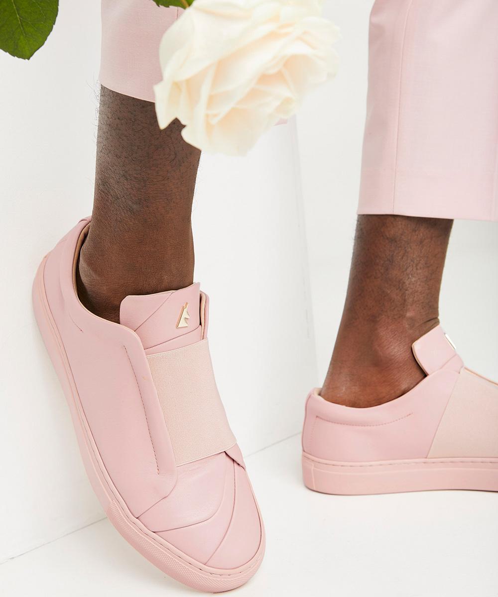 Bisous Sneaker Low-Top Rose