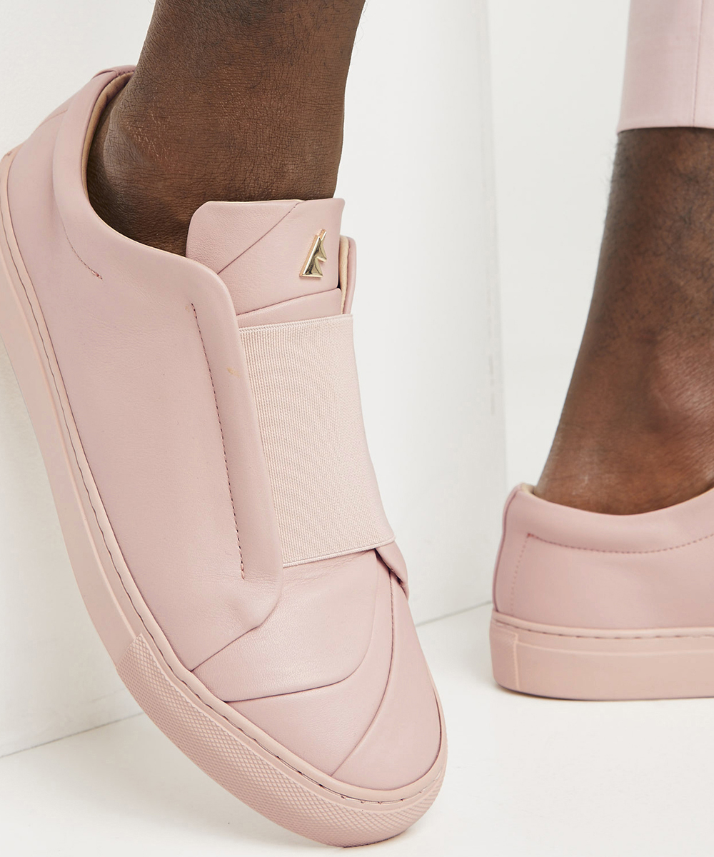 Bisous Sneaker Low-Top Rose