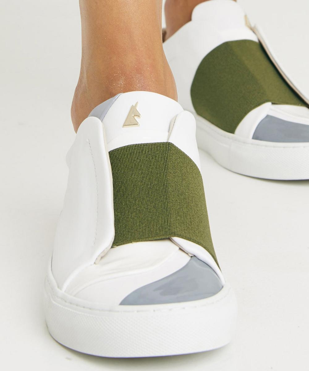 Bonheur B.K Sneaker Low-Top Blanche