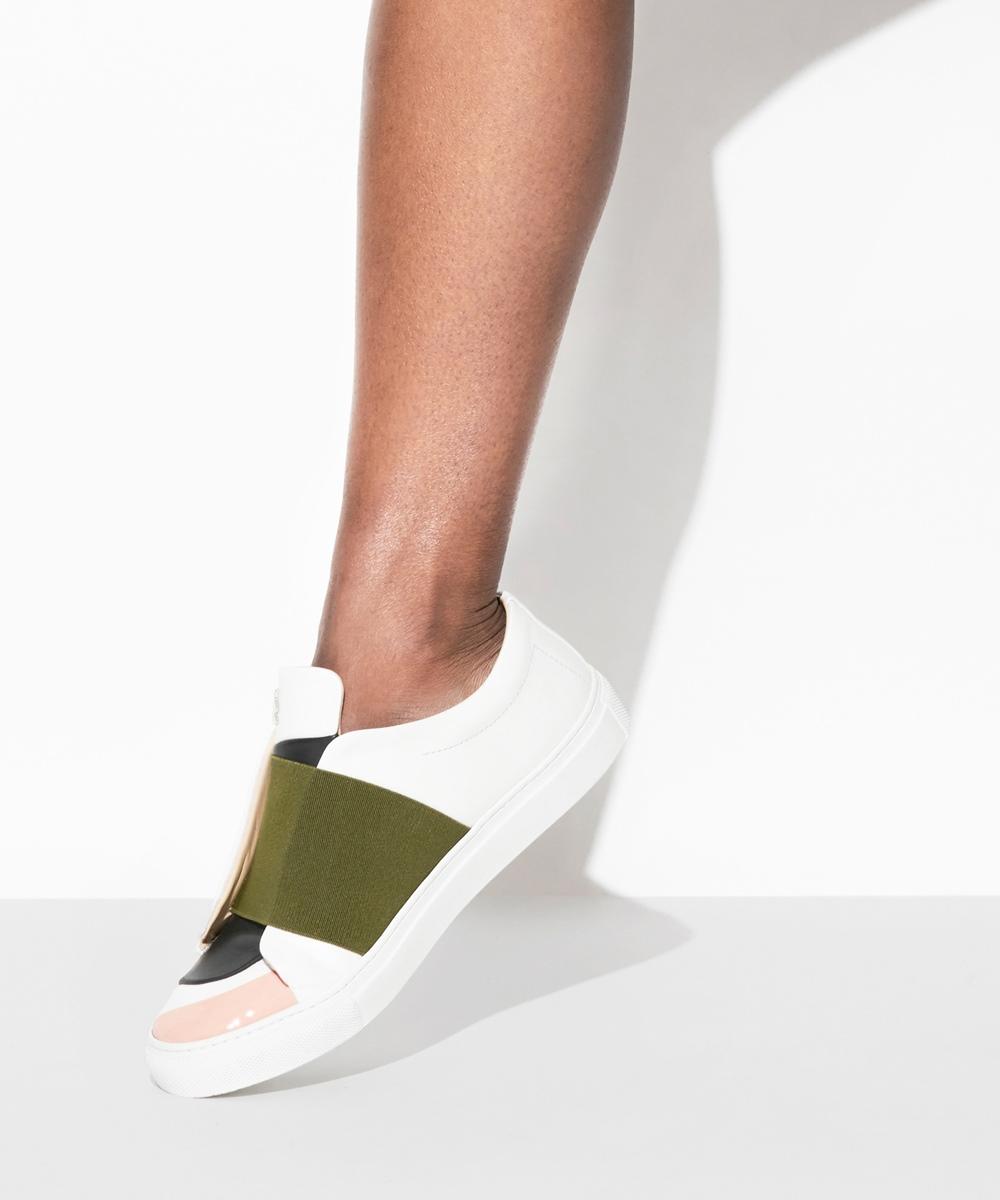 Demain Sneaker Low-Top Blanche