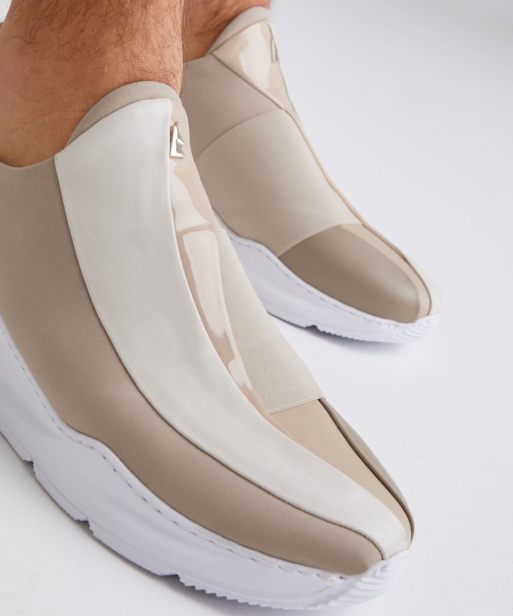 Electron. 02 Sneaker Beige