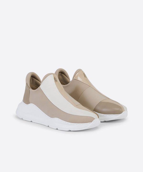 Electron. 02 Beige Sneaker