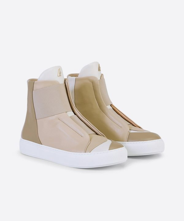 Electron. HT02 Beige High Top