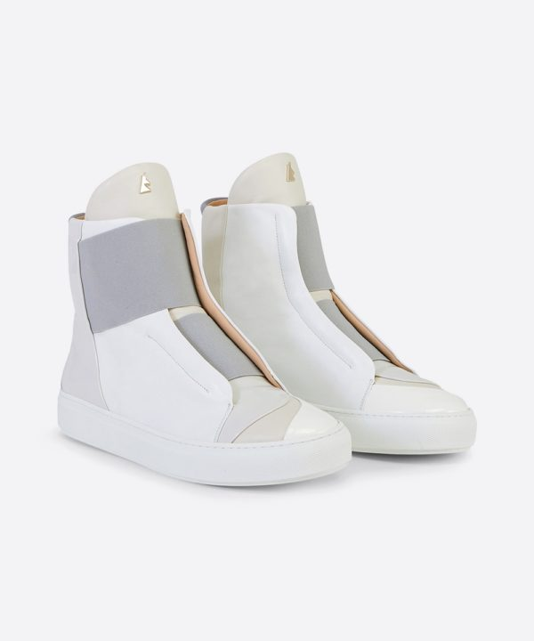 Electron. HT01 High Top Blanche