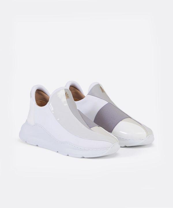 Electron. 01 Sneaker Blanche