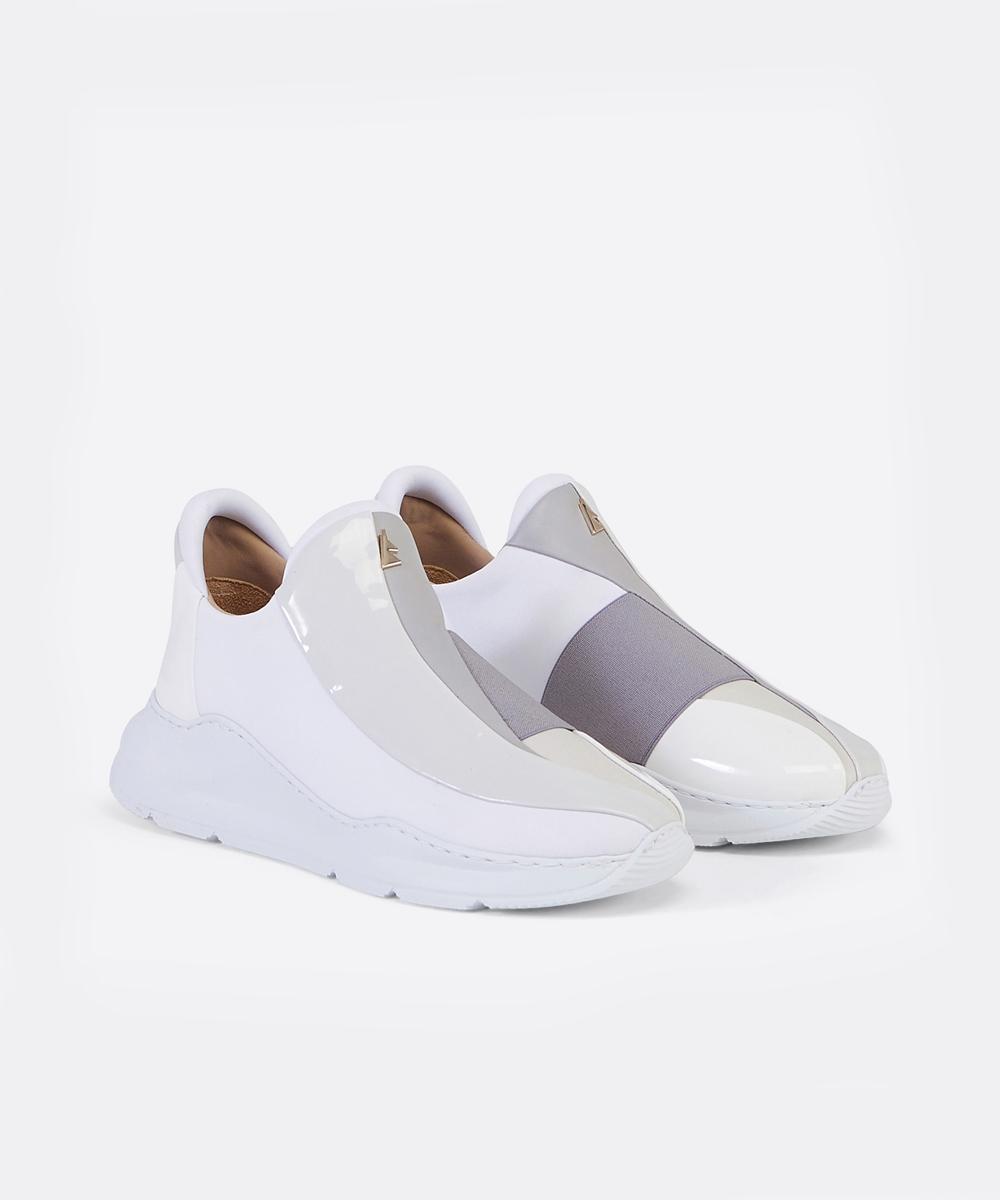 Electron. 01 White Sneaker