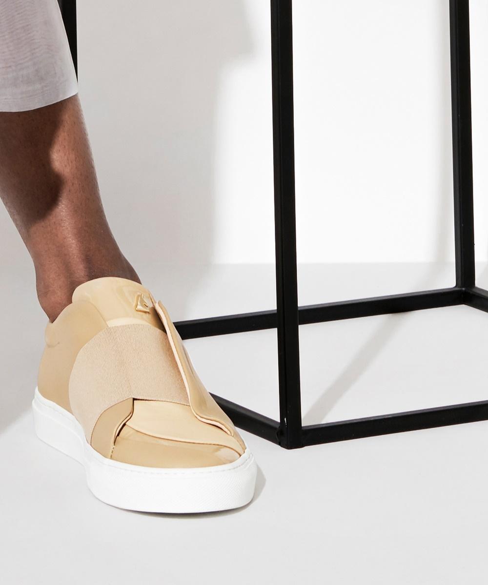 Ensemble Sneaker Low-Top Beige