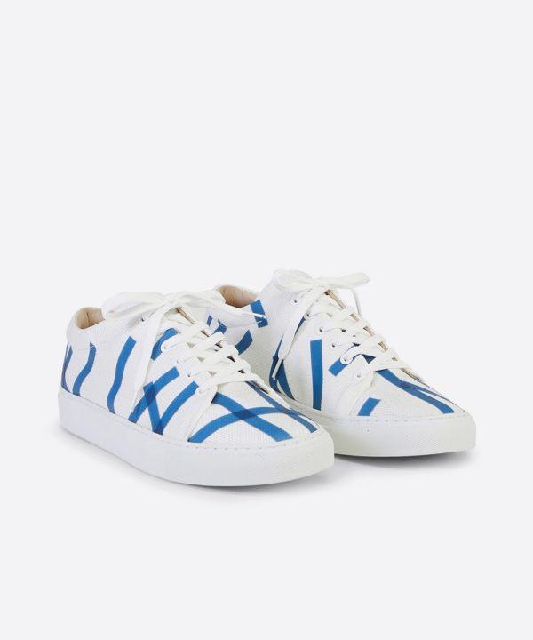 Glacon Low-Top White Sneaker