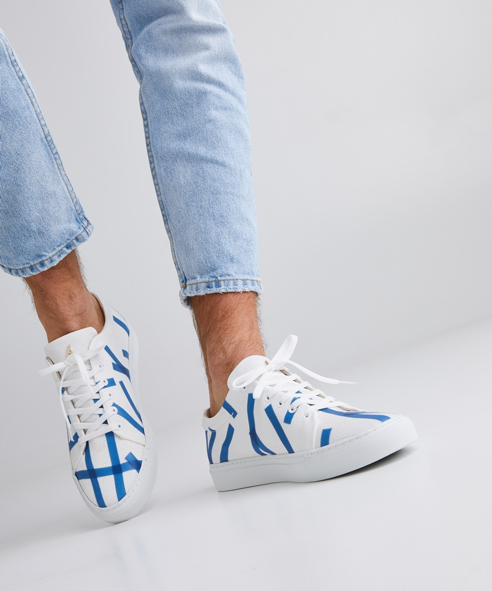 Glacon Sneaker Low-Top Blanche