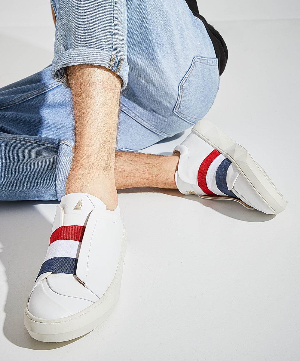 Liberté Sneaker Low-Top Blanche