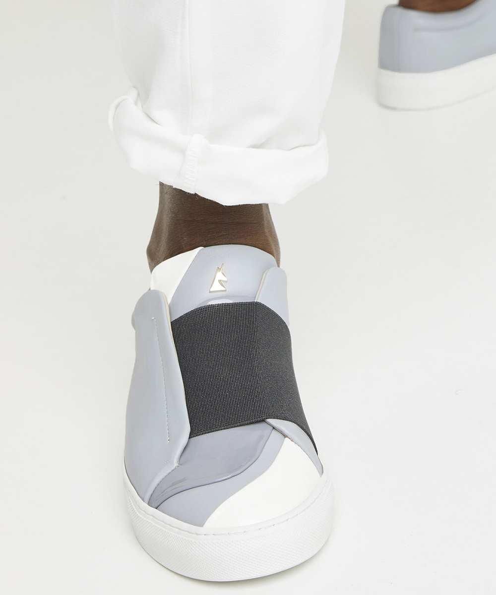 Nuage Sneaker Low-Top Bleu