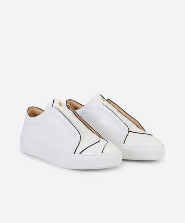 Paix 01 Low-Top White Sneaker