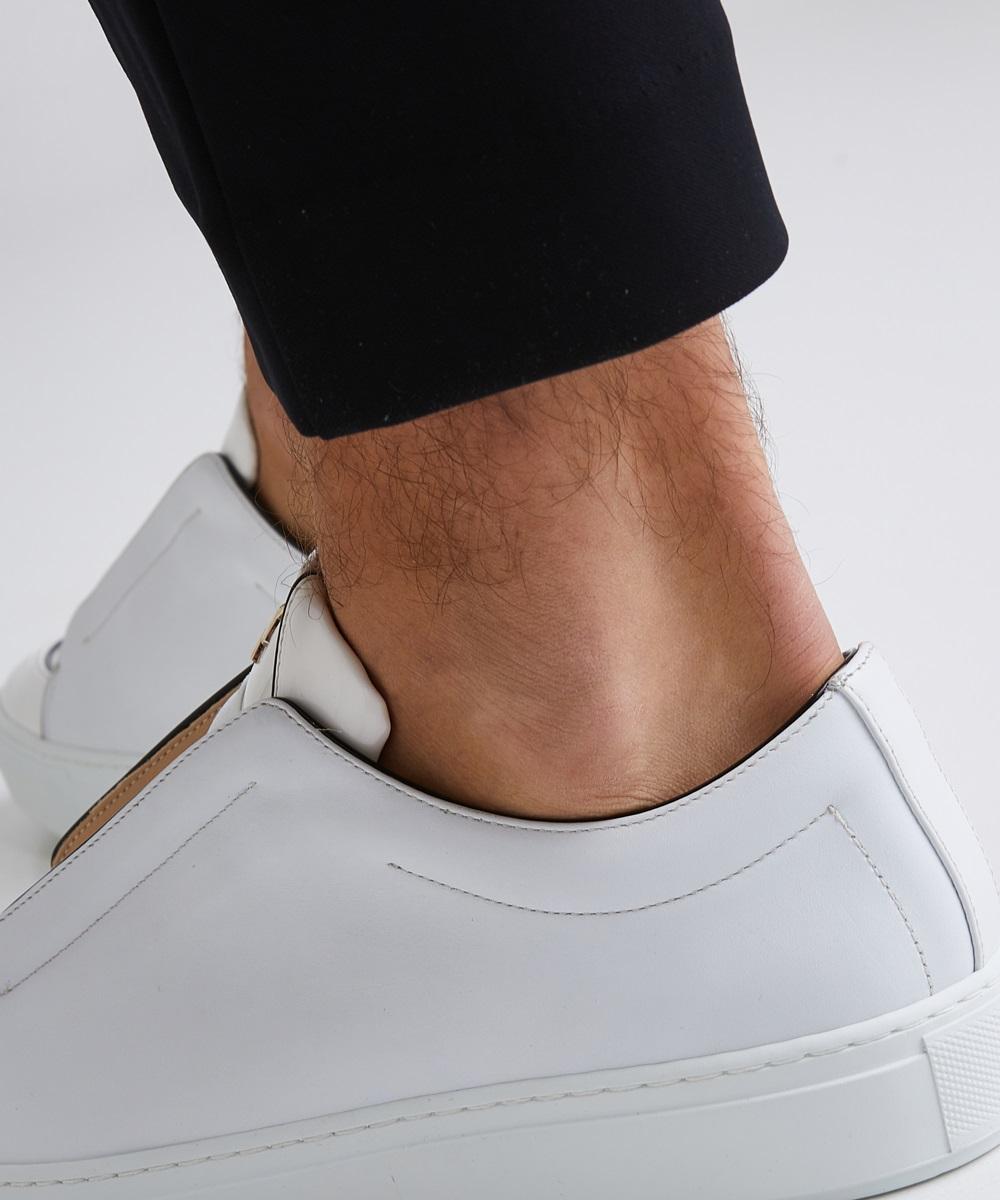 Paix 01 Sneaker Low-Top Blanche