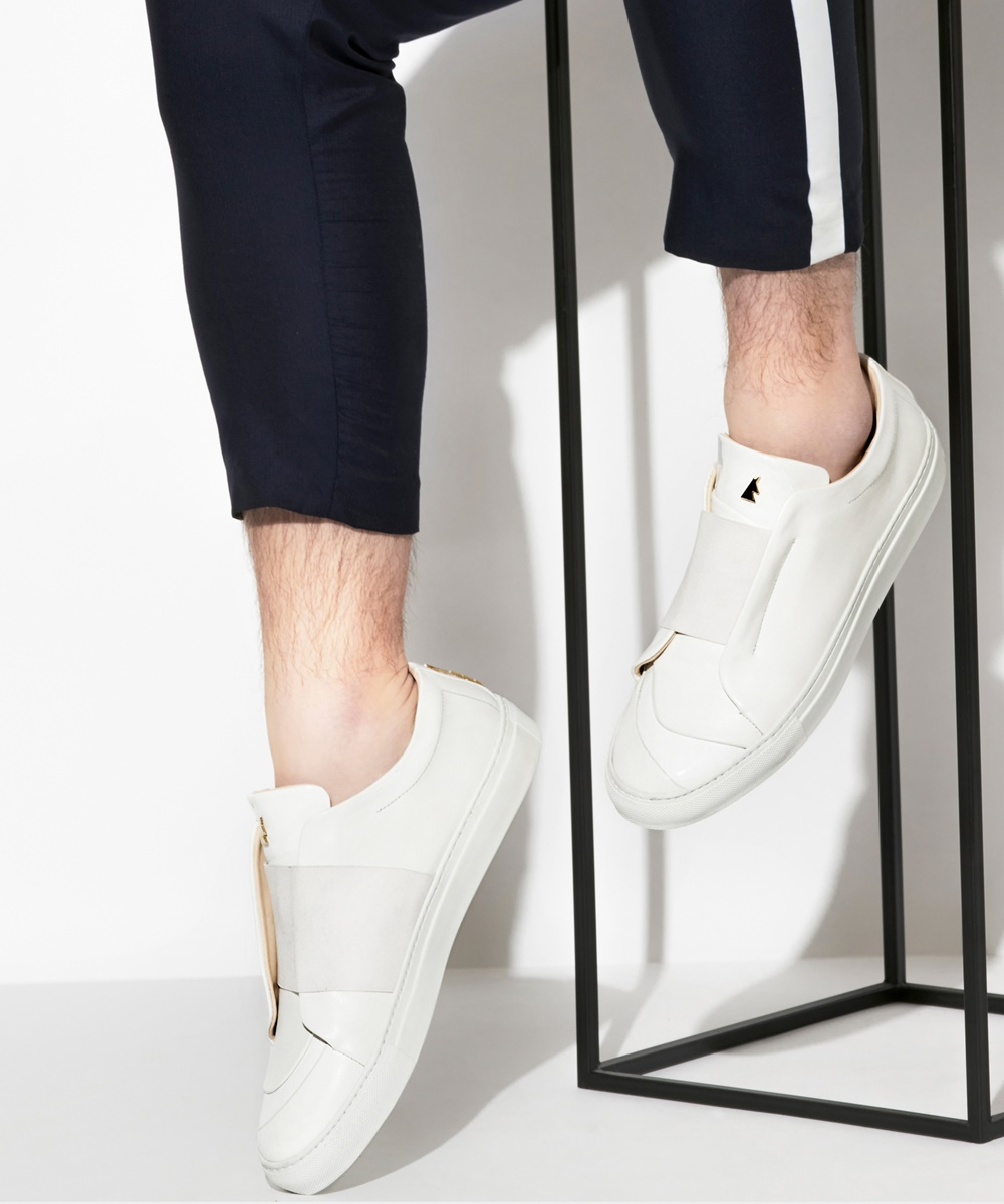 Paix Sneaker Low-Top Blanche