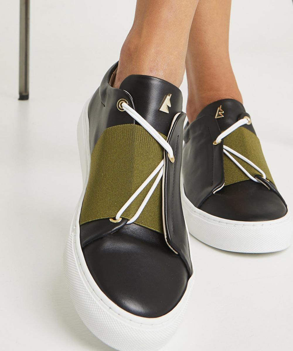 Toi et Moi N.K Sneaker Low-Top Noir