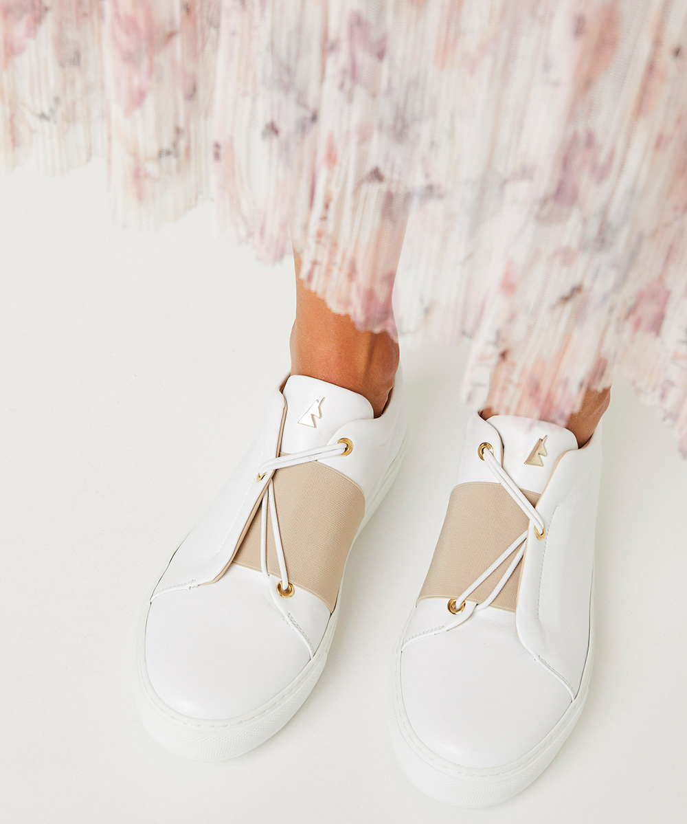 Toi & Moi B.C Sneaker Low-Top Blanche