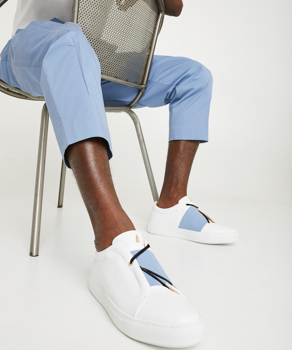 Toi & Moi B.A Sneaker Low-Top Blanche