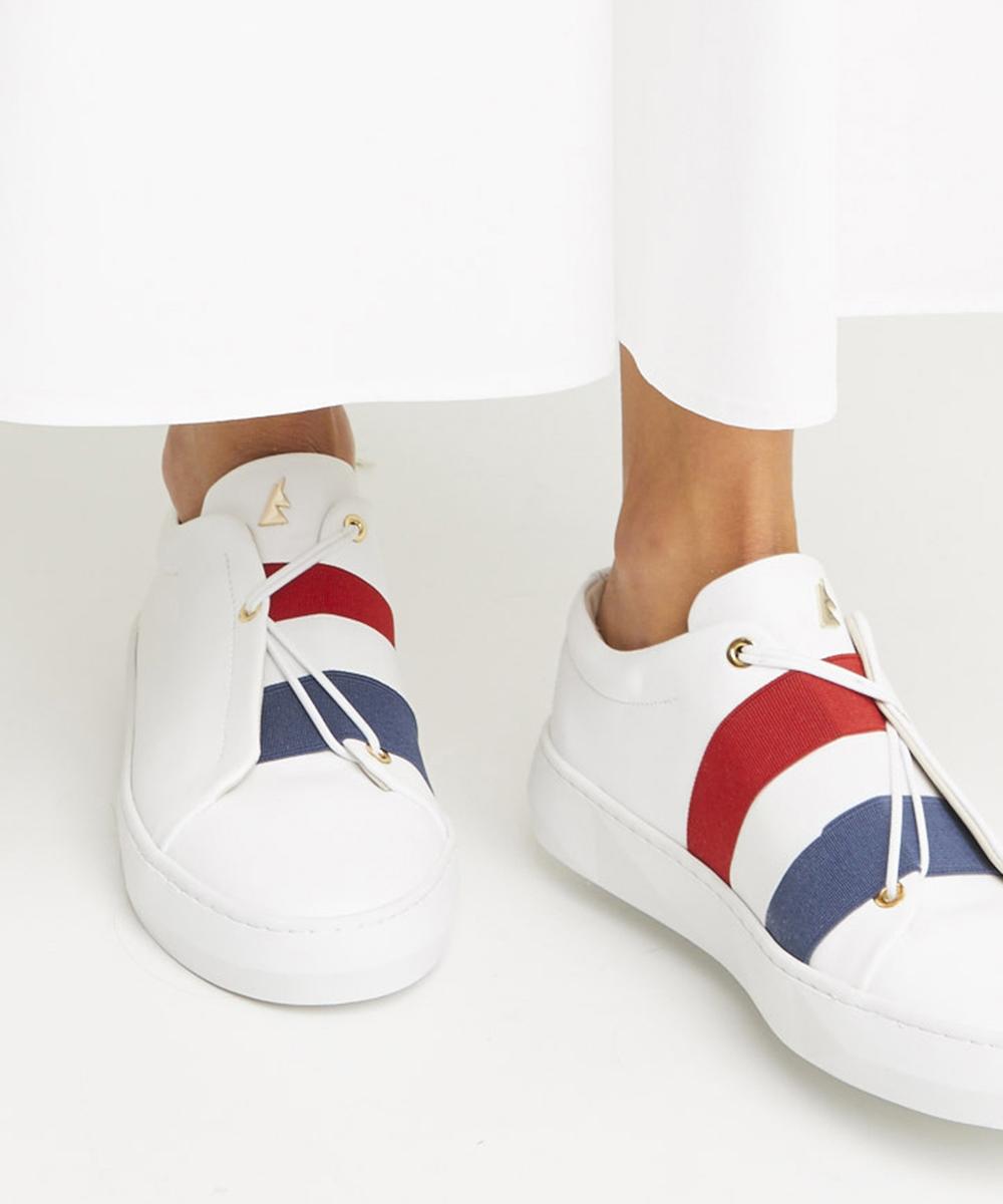 Toi et Moi en France Sneaker Low-Top Blanche