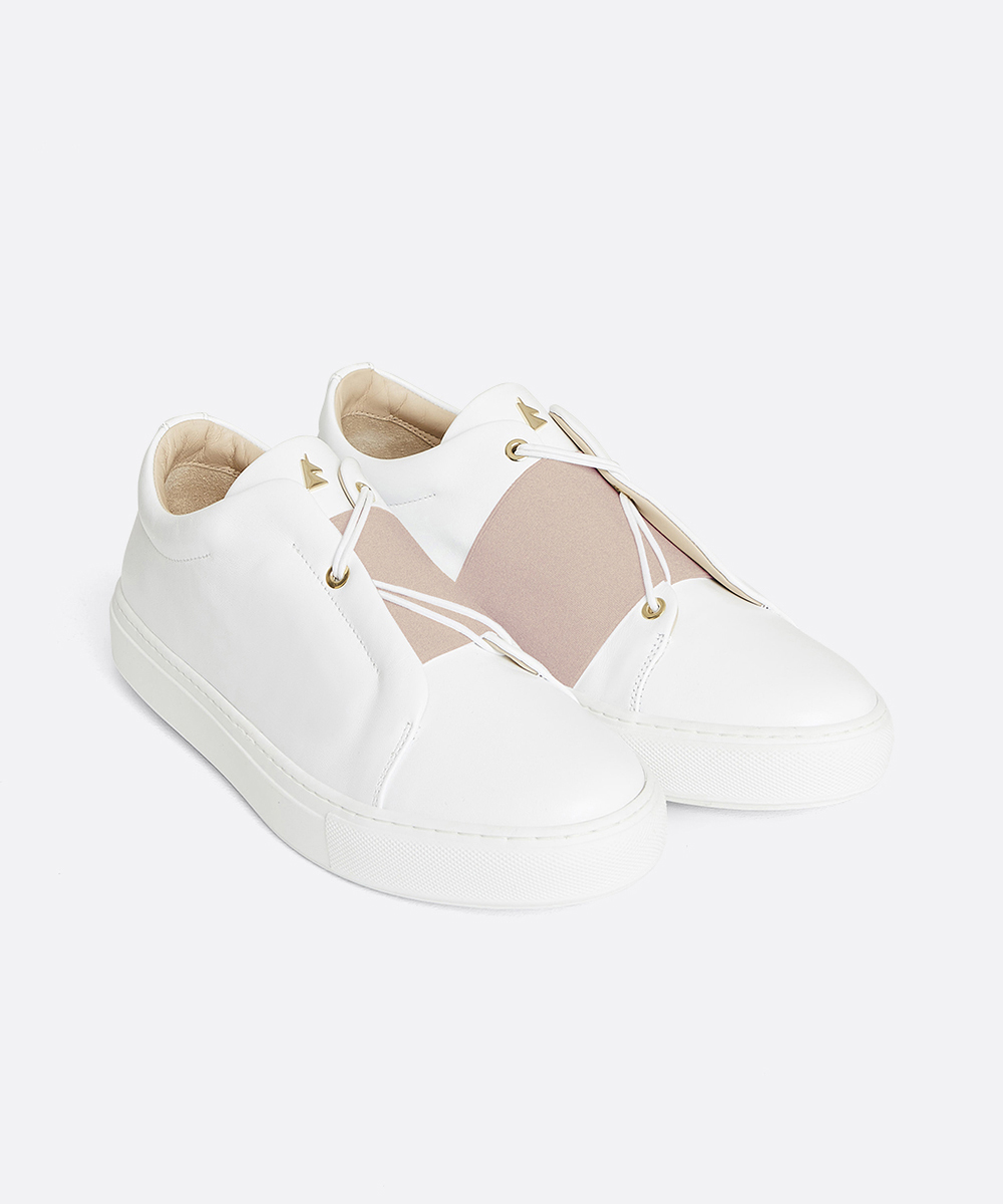 Toi & Moi B.R Sneaker Low-Top Blanche