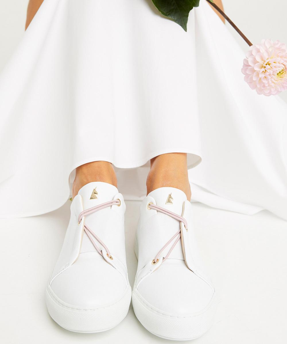 Blush Pink Laces Toi & Moi