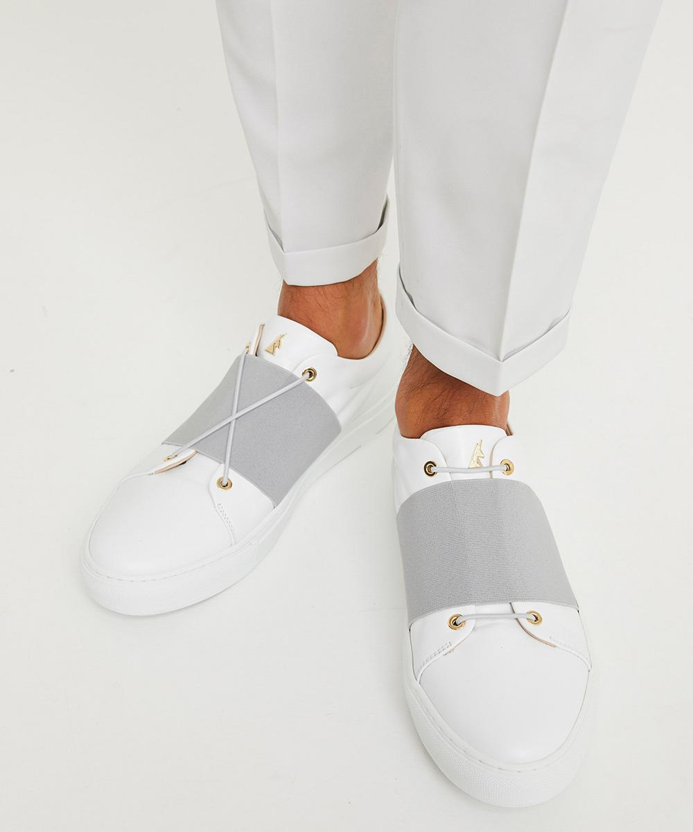 XOXO B.G Sneaker Low-Top Blanche