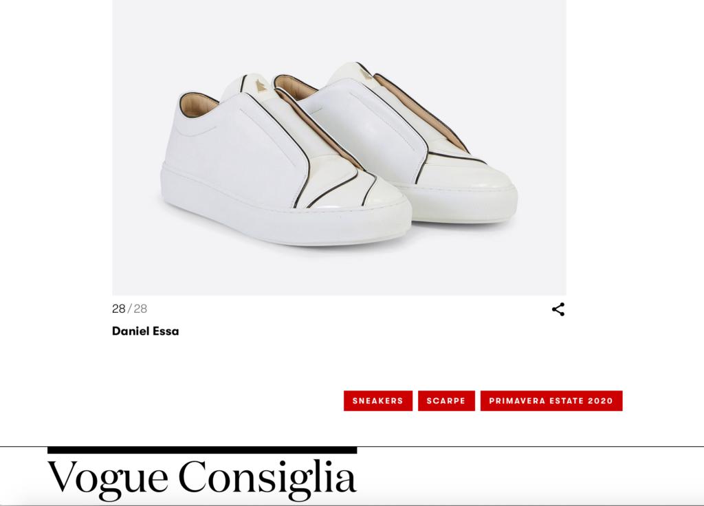 Vogue recommande Daniel Essa