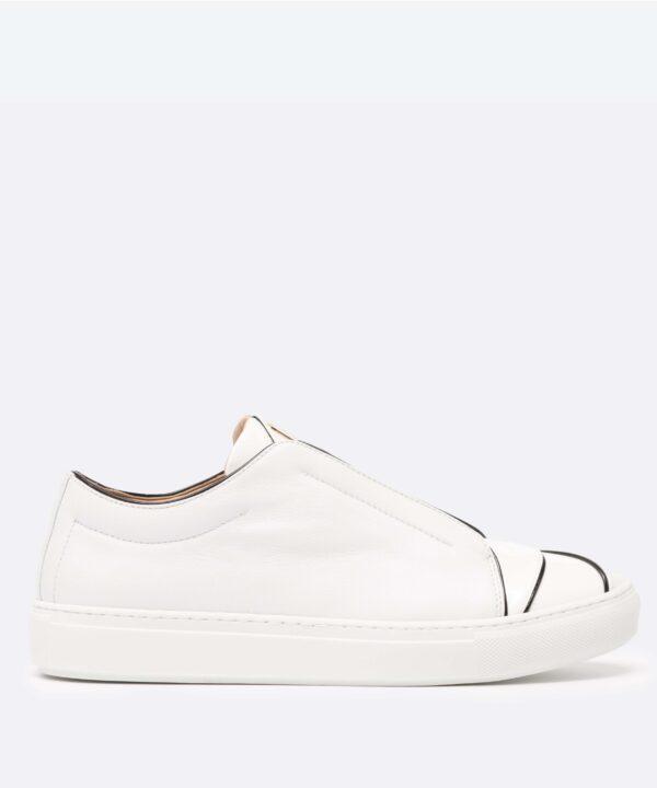 Paix 01 Low-Top White Sneaker SIde