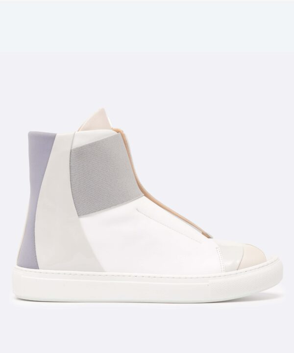 Electron. HT01 White High Top Side