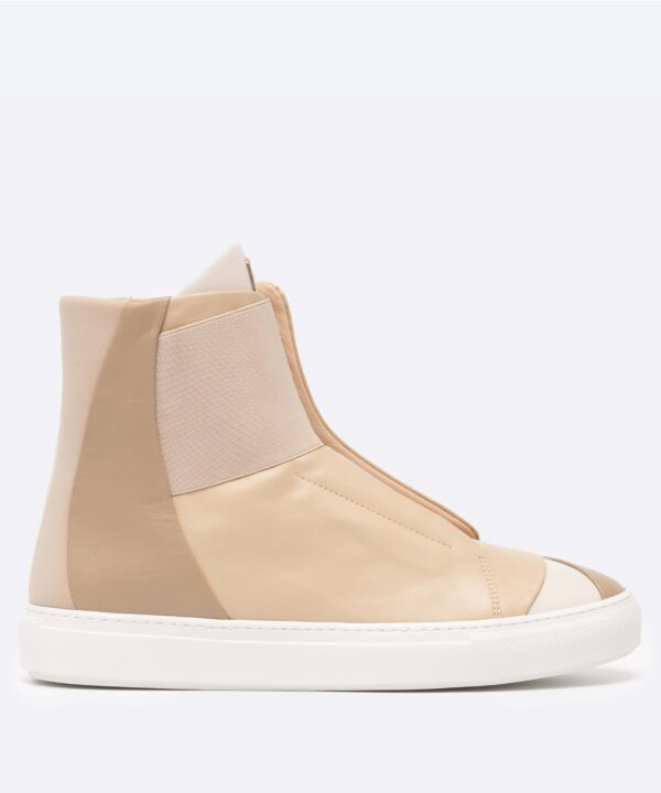 Electron. HT02 High Top Beige Side