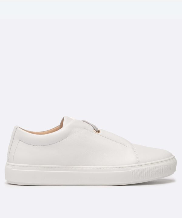 SLIP_ON_SNEAKER_TOI_ET_MOI_WHITE_LEATHER_WHITE_ELASTIC_CHAUSSURE_CUIR_BASKET_SIDE