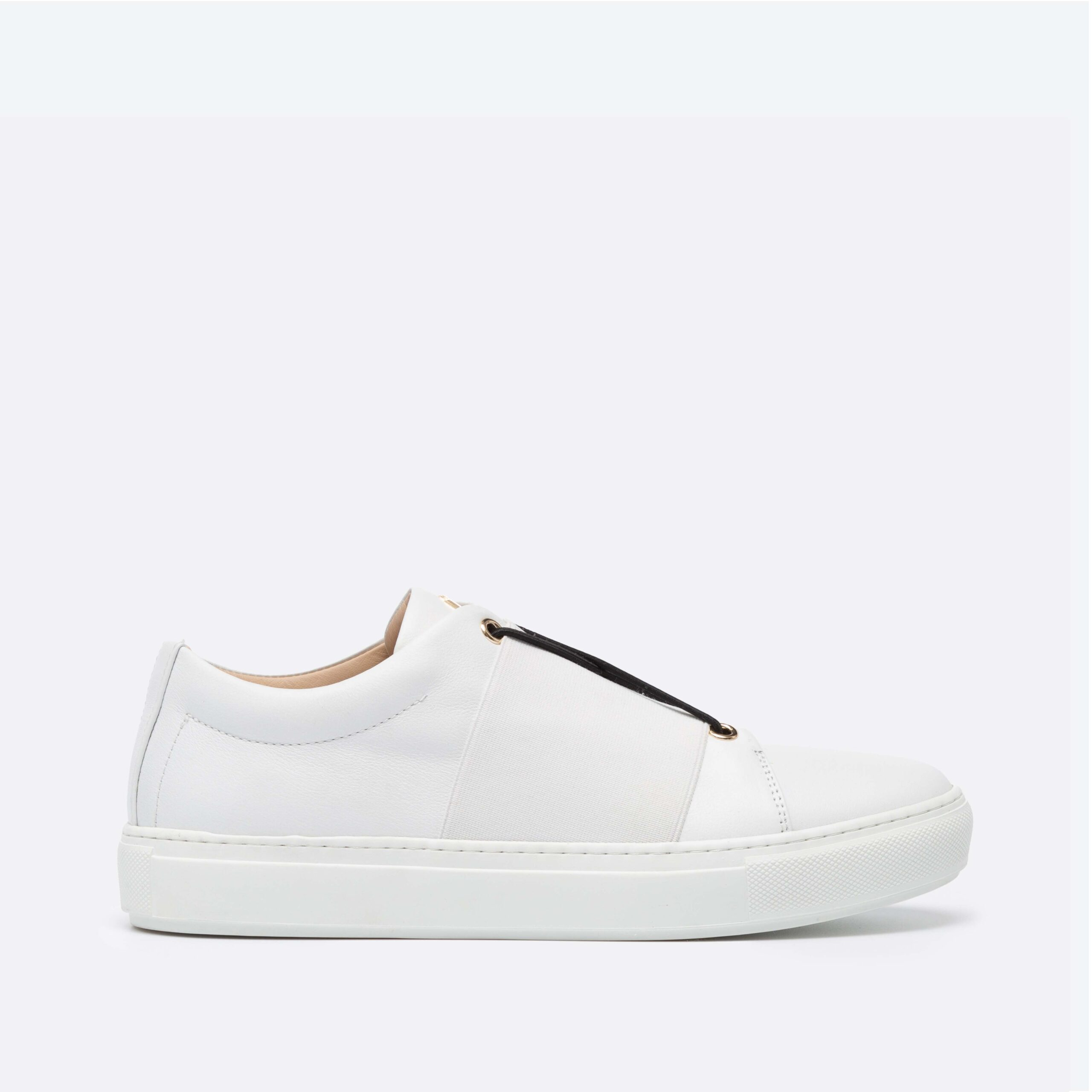 XOXO B.B Sneaker Low-Top Blanche