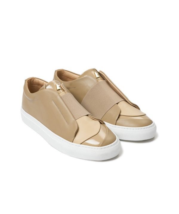 Ensemble Beige Low-Top Sneaker