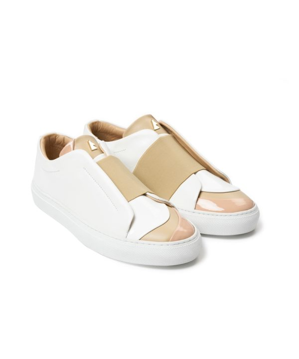 Heureuse B.C White Low-Top Sneaker