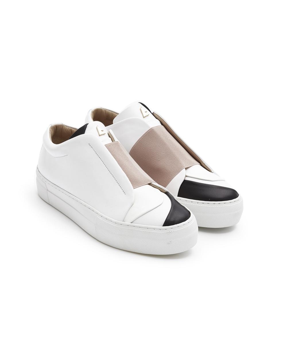 Mademoiselle White Low-Top Sneaker