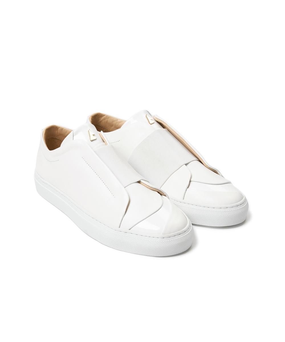Paix White Low-Top Sneaker