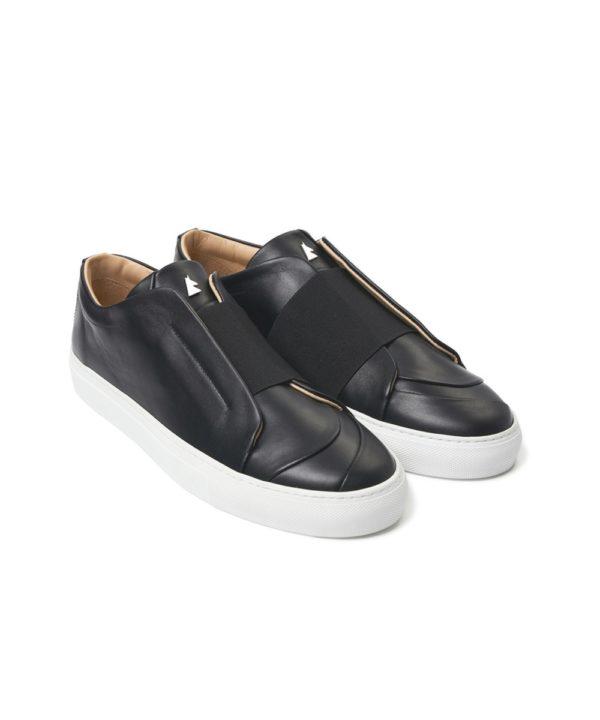 Sieste Black Low-Top Sneaker