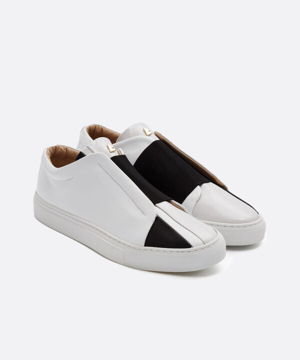 Cinema Low-Top White Sneaker