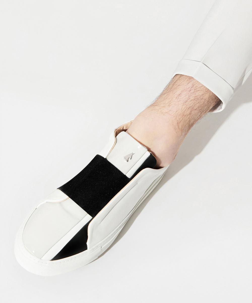 Cinema Low-Top White Sneaker