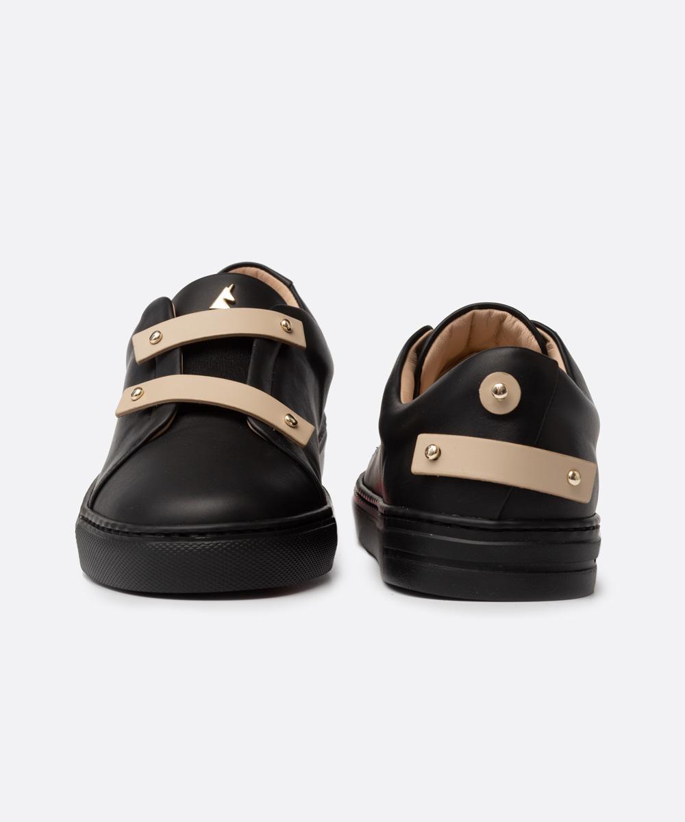 Beige Leather Straps